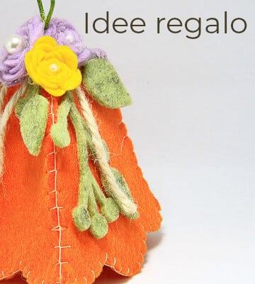 Idee reaglo e decorazioni realizzate a mano a Verona. Regali fatti a mano