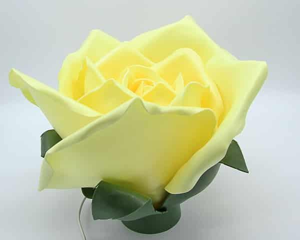 Lampade rose giganti. Fiori e decorazioni fatte a mano Verona