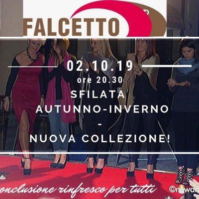 Sfilata Falcetto per la nuova collezione autunno inverno 2019 e 2020 Verona